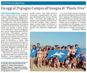 25-06-2019 La Sicilia Agrigento