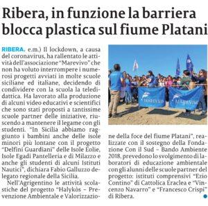 La SiciliA 26.5.2020 Marevivo_001-ritaglio