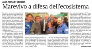 La Sicilia 11.12.2018 marevivo a verona