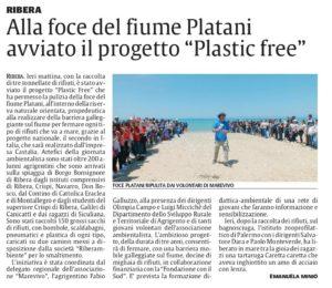 La Sicilia (AG) del 4 Giugno 2019