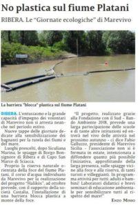 La sicilia 20 agosto 2019