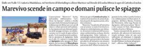 la sicilia 13.5.2019 Marevivo