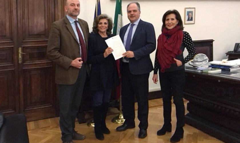 Marevivo con Giuseppe Castiglione oloturie