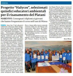 La Sicilia 6 Gennaio 2020