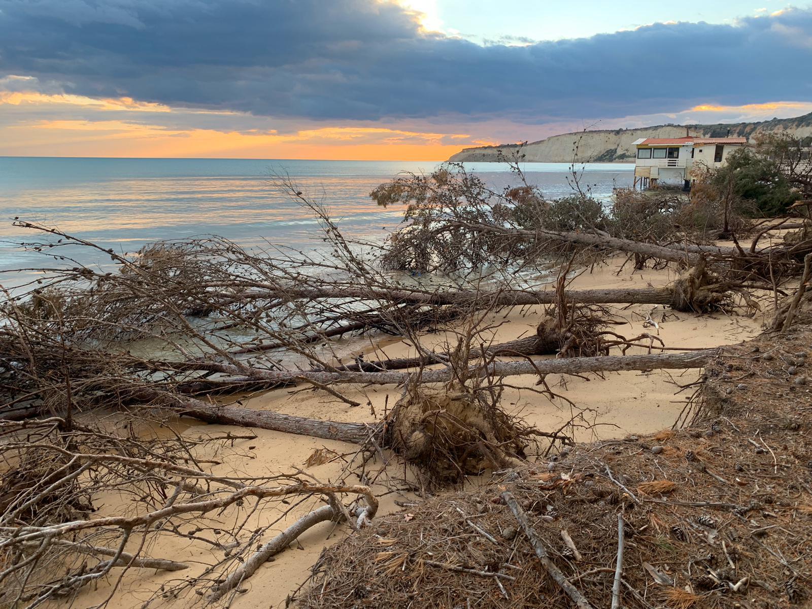 spiaggia di eraclea erosa