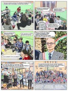FUMETTO_DETECTIVE CATCH_MISSIONE SPATARO VILLAGE