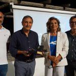 Rosalba Giugni e Carlo Tricoli con i sindaci di Santa Marina Salina e Leni